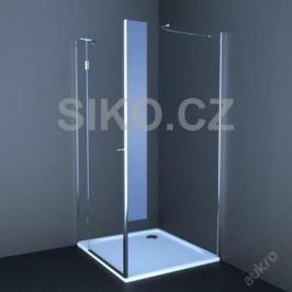 Sprchové dvere Anima T-Comfort jednokrídlové 80 cm, sklo číre, chróm profil TCD280T