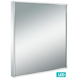 Naturel Zrkadlo s osvetlením led Iluxit 60x60 cm IP44 ZIL6060LED
