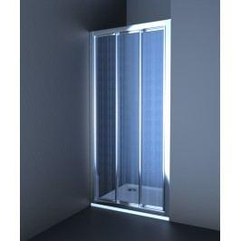 Sprchové dvere Anima Epd posuvné 110 cm, nepriehľadné sklo, chróm profil EPD110CRCH
