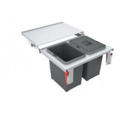 FRANKE sorter Garbo 60-2 121.0284.027 - Odpadkový kôš Franke Sorter Garbo 60-2 2 x 18l