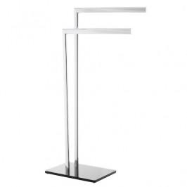 Optima Držiak uterákov  hranatý Glass 40 cm, čierna/chróm GLASDRZRUC