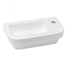 Umývadielko Glacera Bigio 45x24,2 cm, otvor pre batériu vpravo BG4626