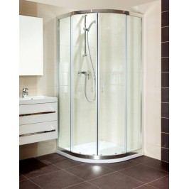 Sprchový kút Anima T-Silent štvrťkruh 90 cm, R 550, sklo číre, chróm profil TSIS90CRT
