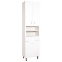 Kúpeľňová skrinka vysoká Keramia Pro 50x33,3 cm biela PROV50K