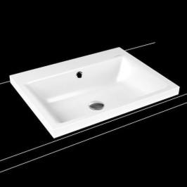 Umývadlo na dosku Kaldewei Puro 3154 60x46 cm alpská biela bez otvoru pre batériu 900406003001
