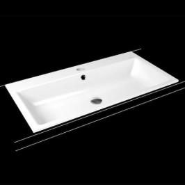 Zápustné umývadlo Kaldewei Puro 3152 90x46 cm alpská biela otvor pre batériu uprostred 900206013001