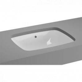Zápustné umývadlo Vitra Metropole 47x37 cm bez otvoru pre batériu 5667-003-1082