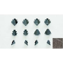 Koncovky tesniace lišty Naturel granit 115.WAPZ