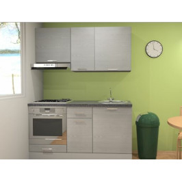 Kuchynská linka Naturel Gia 160 cm borovica biela mat KUCHSETG21