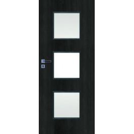 Interiérové dvere Naturel Kano pravé 60 cm brest antracit KANO30JA60P