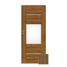 Interiérové dvere Naturel Aura ľavé 80 cm orech karamelový AURA5OK80L
