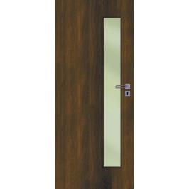 Interiérové dvere Naturel Deca ľavé 80 cm orech karamelový DECA10OK80L