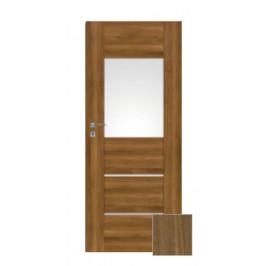 Interiérové dvere Naturel Aura pravé 80 cm orech karamelový AURA2OK80P
