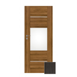 Interiérové dvere Naturel Aura pravé 90 cm brest antracit AURA5JA90P