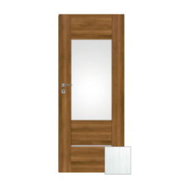 Interiérové dvere Naturel Aura ľavé 60 cm borovica biela AURA3BB60L