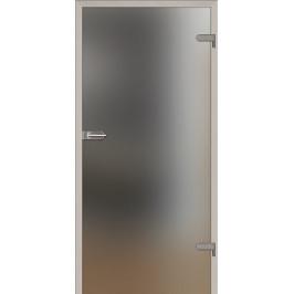 Sklenené dvere Naturel Glasa pravé 90 cm matné GLASA1B90P