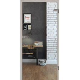 Sklenené dvere Naturel Glasa pravé 90 cm číre GLASA1C90P