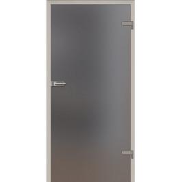 Sklenené dvere Naturel Glasa pravé 70 cm grafit GLASA1G70P