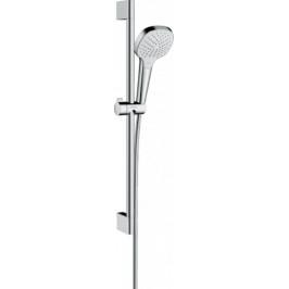 Sprchový set Hansgrohe Croma Select E biela/chróm 26583400