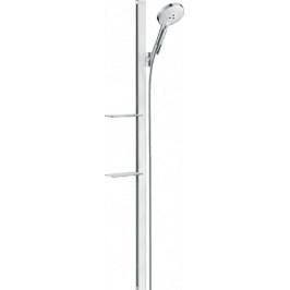 Sprchový set Hansgrohe Raindance Select S s poličkou biela/chróm 27646400