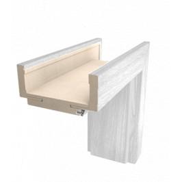 Obložková zárubňa Naturel 70 cm pre hrúbku steny 9,5-11,5 cm borovice biela ľavá O2BB70L