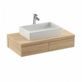 Kúpeľňová skrinka pod umývadlo Ravak Formy 120x55 cm dub X000001034