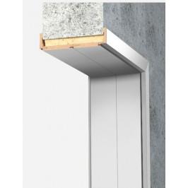 Obložková zárubňa Naturel 60 cm pre hrúbku steny 24-28 cm biela ľavá O6BF60L