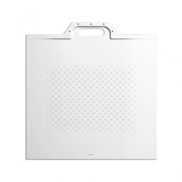 Sprchová vanička štvorcová Kaldewei Xetis 885 90x90 cm smaltovaná oceľ alpská biela 488530000001