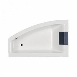 Asymetrická vaňa Kolo Clarissa 170x100 cm akrylát ľavá XWA0871000