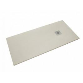 Sprchová vanička obdĺžniková Siko Stone 160x90 cm liaty mramor blanco SIKOSTONE16090SB