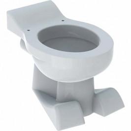 Geberit stojace WC pre deti, dizajn levích láb, Biele