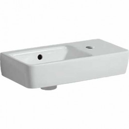Umývadlo Geberit Selnova 50x25 cm otvor pre batériu uprostred 501.513.00.1