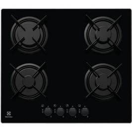 Plynová varná doska Electrolux čierna EGT6242NVK