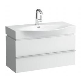 Kúpeľňová skrinka pod umývadlo Laufen Case 89,3x37,5x46,2 cm biela H4012520754631