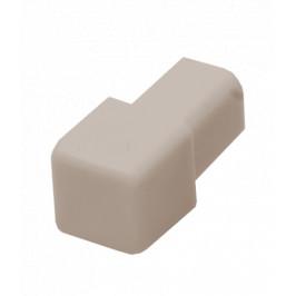 Roh k lište hranatý PVC bahama, výška 8 mm, LHROH81