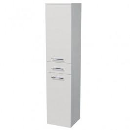 Kúpeľňová skrinka vysoká Naturel Ratio 35x162x35 cm biela lesk SV351ZP9016G