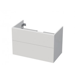 Kúpeľňová skrinka pod umývadlo Naturel Ratio 82x56x46 cm biela lesk CT852Z56PU.9016G