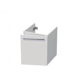 Kúpeľňová skrinka pod umývadlo Naturel Ratio 41,5x56x31,5 cm biela mat CT451DP56.9016M