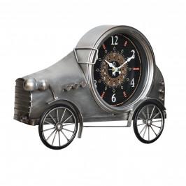 Nástenné hodiny v tvare Oldtimeru - analógové - 37 x 8 x 25 cm - farebné – sklo