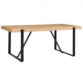 Elegantný jedálenský stôl - 183 x 104 cm - dub biely