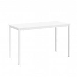 Štýlový dizajnový jedálenský stôl - 120x60cm - biely