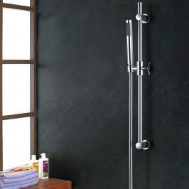 [neu.holz] Sprchový stĺp - hlavová a ručná sprcha - strieborný