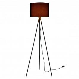 Elegantná stojaca lampa - ihlan 1 x E27 - 40W - čierna