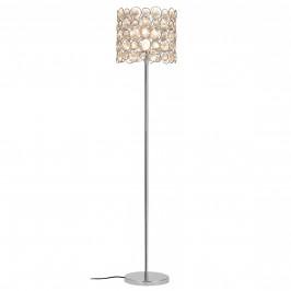 Elegantná stojaca lampa - CrystalTree 1 x E 27 - 60W - chrómová