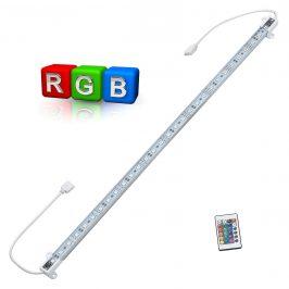 Hliníkový LED pásik – pre nepriame osvetlenie - 1 x 50cm - farebný RGB