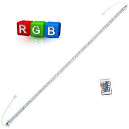 [in.tec]® Hliníkový LED pásik – pre nepriame osvetlenie - 1 x 100cm - farebný RGB