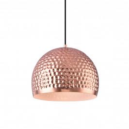Dekoratívna dizajnová design závesná lampa / stropná lampa - medená – biela (1 x E27)