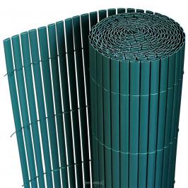 [neu.holz]® Plastové rákosie na plot - 200 x 300 cm - zelené