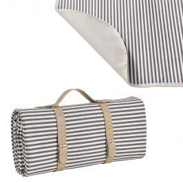 Pikniková deka - sivá - 200 x 147 cm