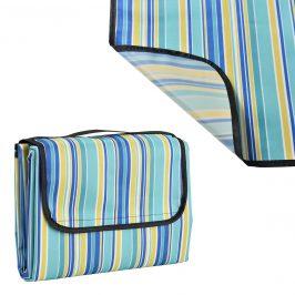 Pikniková deka - žltá - 200 x 190 cm